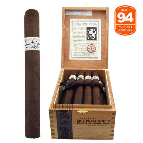 Liga Privada No. 9 Corona Doble Box and Stick