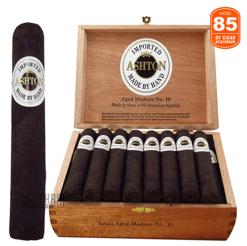 Ashton Aged Maduro No. 10 Box and Stick
