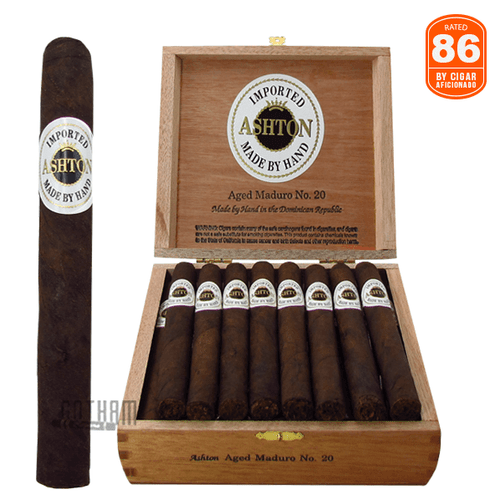 Ashton Aged Maduro No. 20  Box and Stick