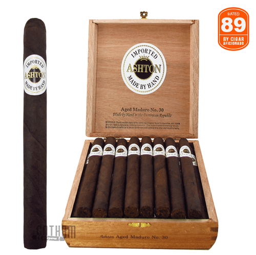 Ashton Aged Maduro No. 30 Box and Stick