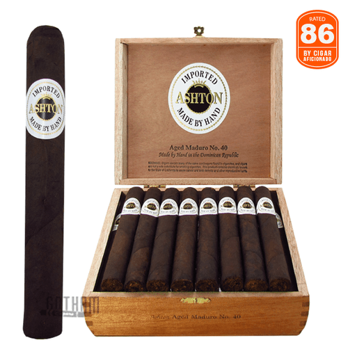 Ashton Aged Maduro No. 40 Box and Stick