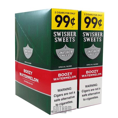 Swisher Sweets Cigarillos Boozy Watermelon Box