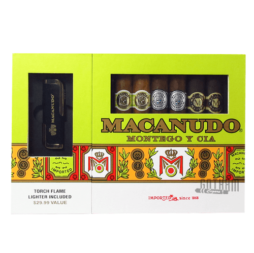 Macanudo Gift Set With Lighter Box