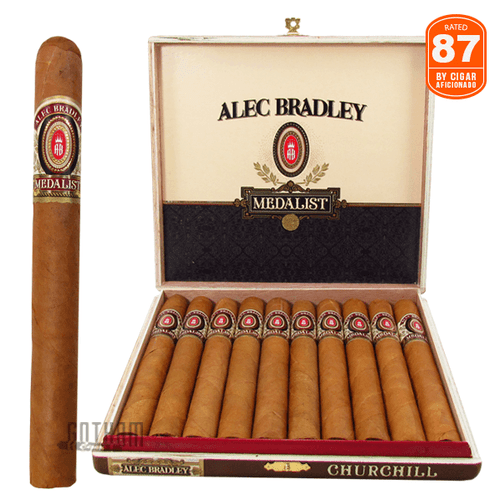 Alec Bradley Medalist Churchill Box and Stick