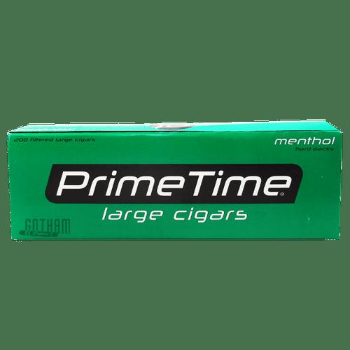 Prime Time Large Cigars Menthol