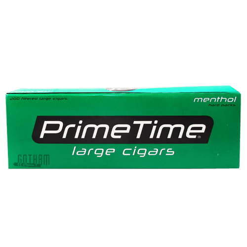 Prime Time Large Cigars Menthol