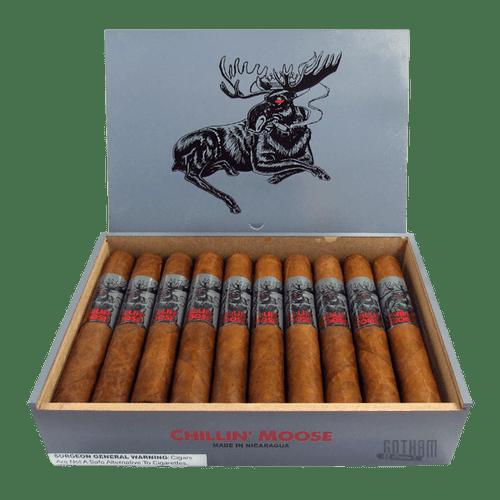 Corona or Gigante or Robusto Chillin/' Moose Empty Wooden Cigar Boxes Unused!