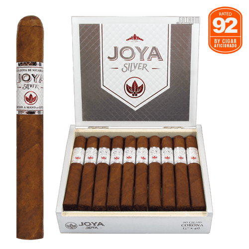 Joya Silver Corona Box and Stick