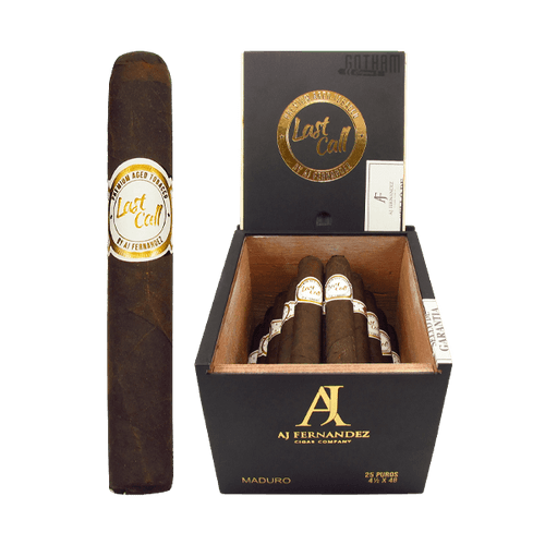 Last Call Maduro Geniales Box and Stick