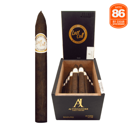 Last Call Maduro Flaquitas Box and Stick