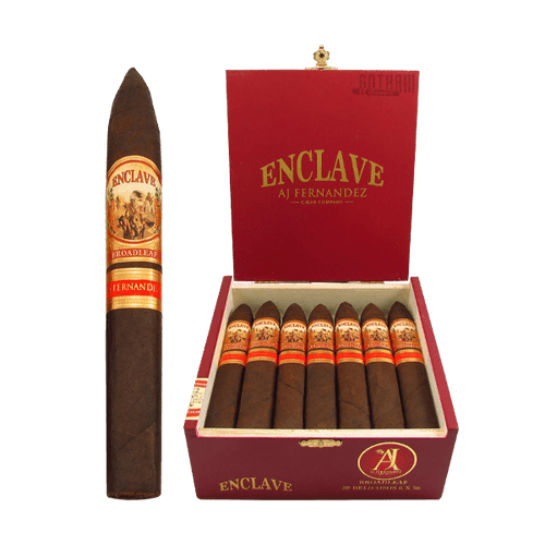 Enclave Broadleaf Belicoso Box and Stick