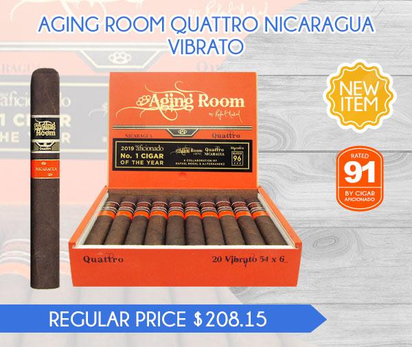 NEW ITEM! AGING ROOM QUATTRO NICARAGUA VIBRATO