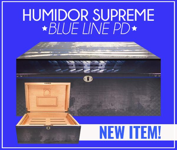 Humidor Supreme Blue Line PD