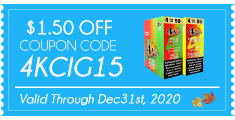 Good Times 4k's Cigarillos $1.50 OFF!