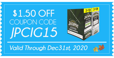 Jackpot Cigarillos $1.50 OFF!