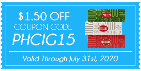 Phillies Filtered Cigars $1.50 OFF!
