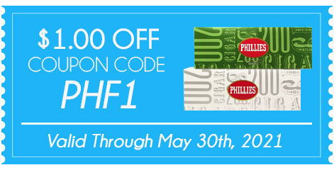 COUPON CODE PHILLIES FILTERED CIGARS