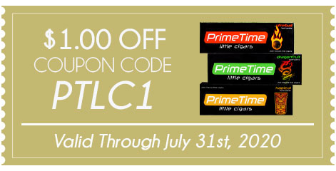 Prime Time Little Cigars $1.00 OFF!