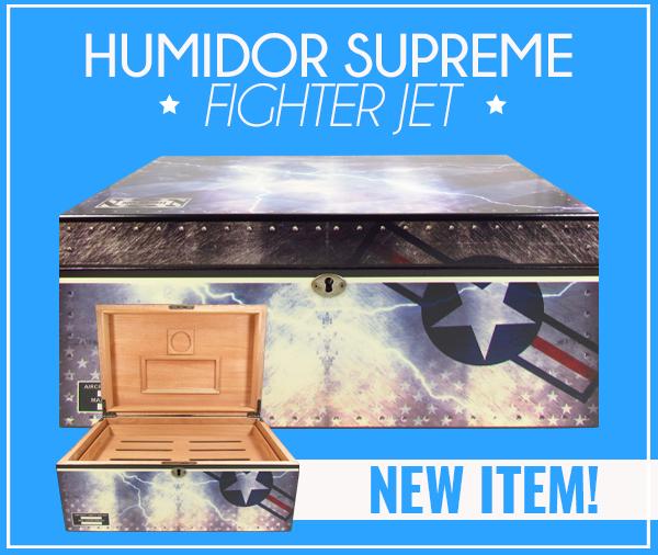 Humidor Supreme Fighter Jet
