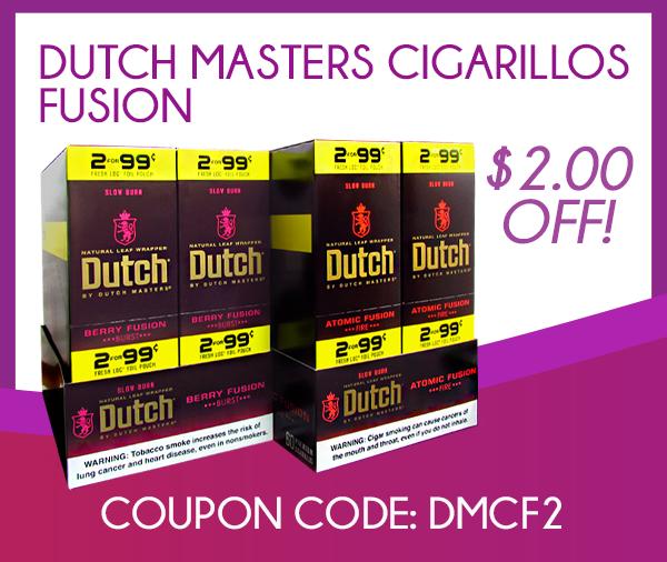 Dutch Master Cigarillos Fusion