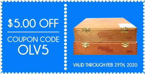 OLIVA Cigars $5.00 OFF! Coupon Code