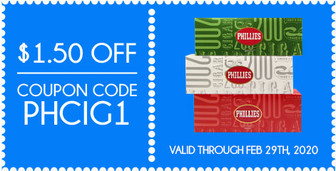 Phillies Filtered Cigars $1.50 OFF! Coupon Code