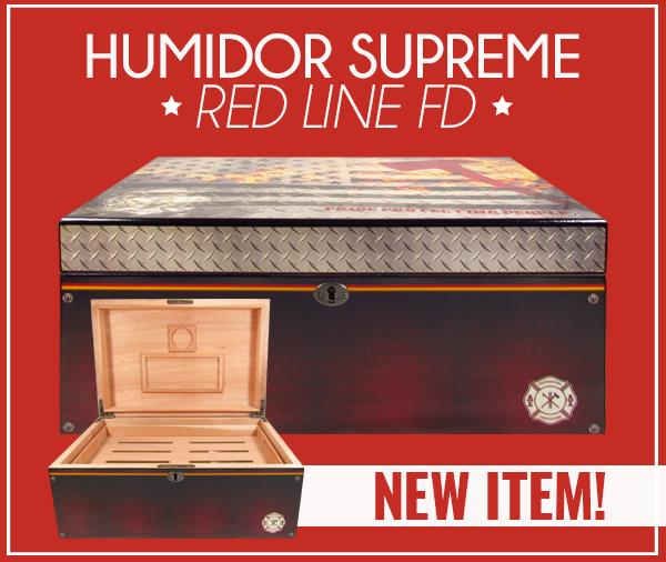 Humidor Supreme Red Line FD