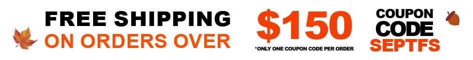 Free Shipping September 2020