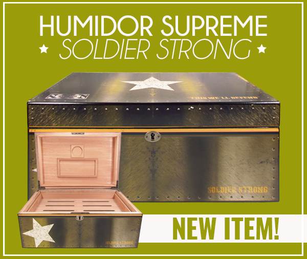 Humidor Supreme Soldier Strong