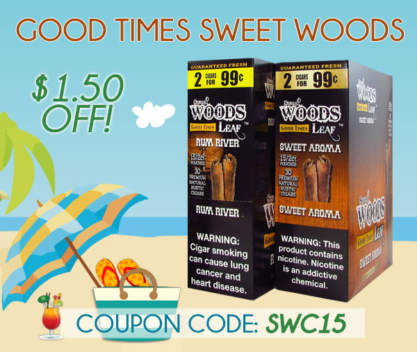Good Times Sweet Woods $1.50 OFF!