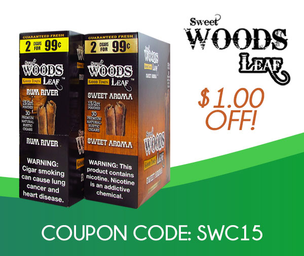 Sweet Woods Cigars $1.50 OFF!