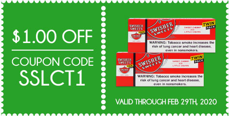 Swisher Sweets Little Cigars Twin Packs $1.00 OFF!