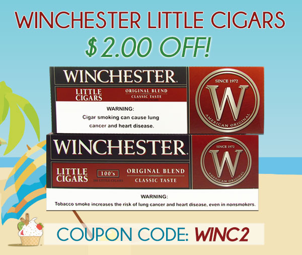 Winchester Little Cigars $2.00 OFF!