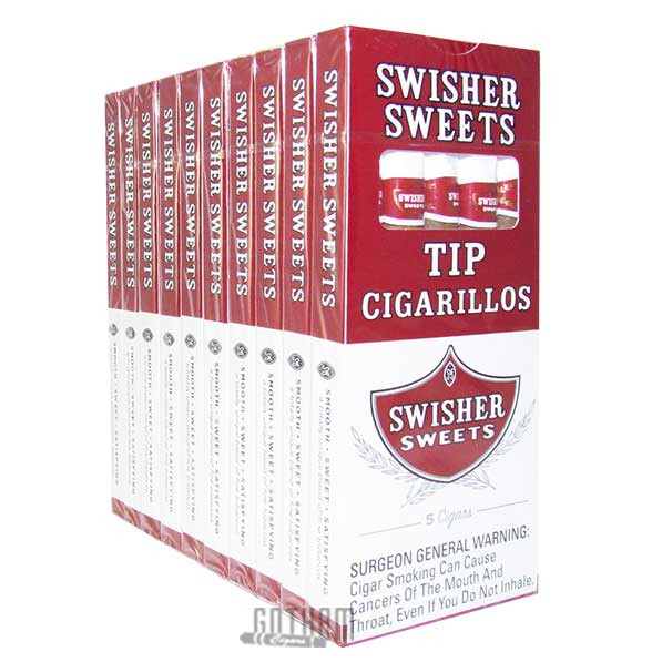 Gotham Cigars coupon: Swisher Sweets Tip Cigarillos Pack