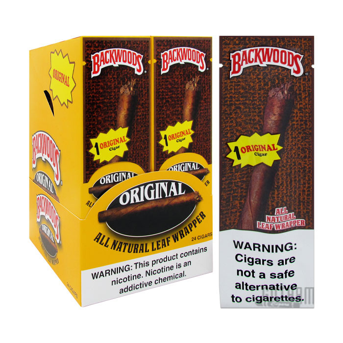 Gotham Cigars coupon: Backwoods Original Wild N' Mild Singles