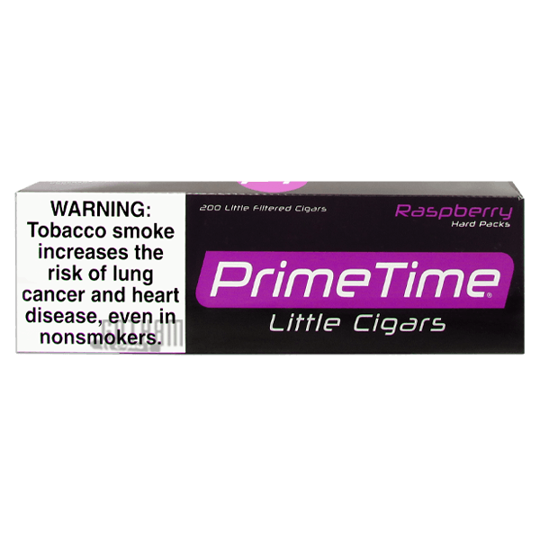 Gotham Cigars coupon: Prime Time Little Cigars Raspberry