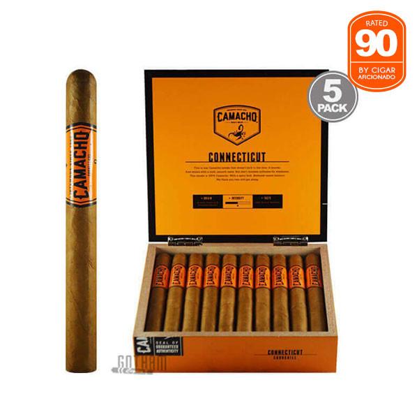 Gotham Cigars coupon: Camacho Connecticut Churchill