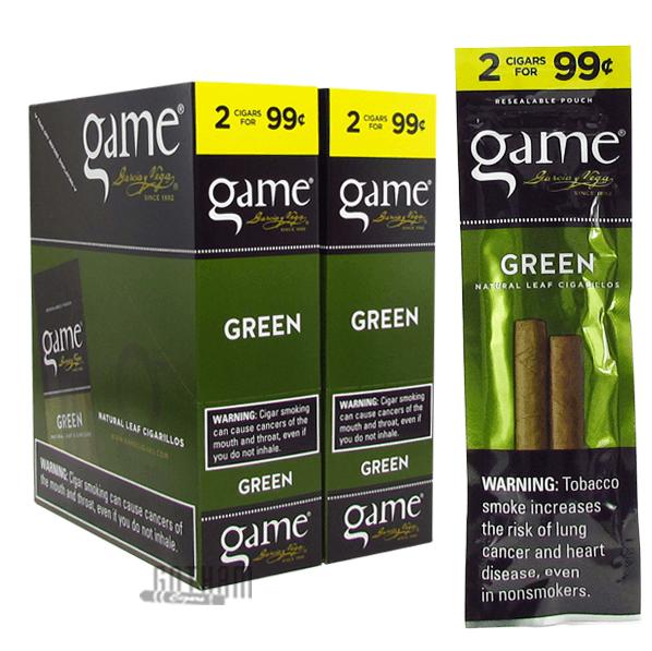 Gotham Cigars coupon: Game Cigarillos Green