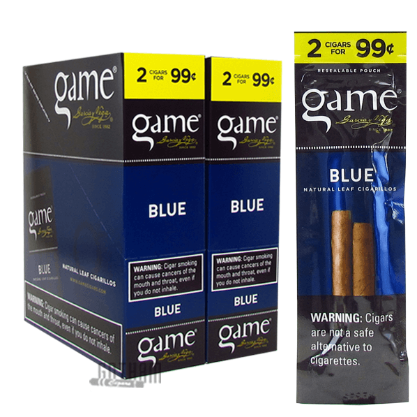 Gotham Cigars coupon: Game Cigarillos Blue
