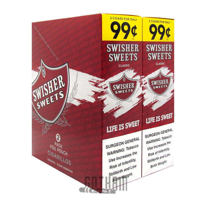 Gotham Cigars coupon: Swisher Sweets Cigarillos Regular