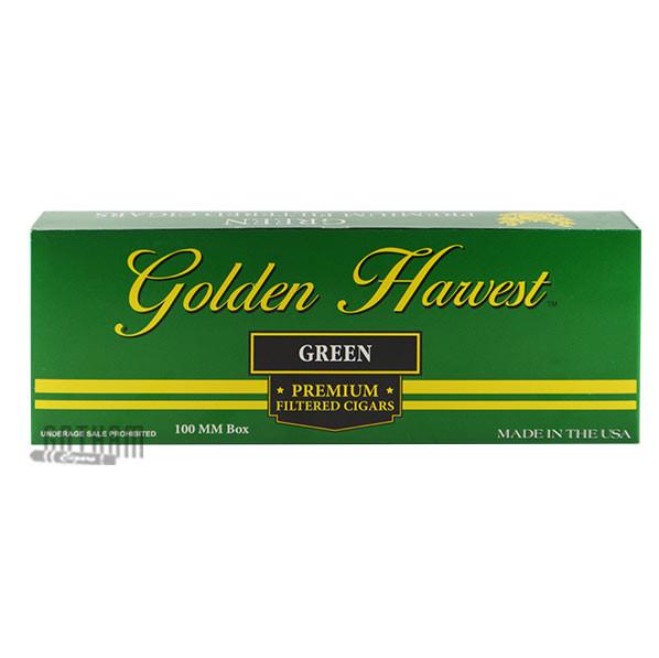 Gotham Cigars coupon: Golden Harvest Filtered Cigars Menthol