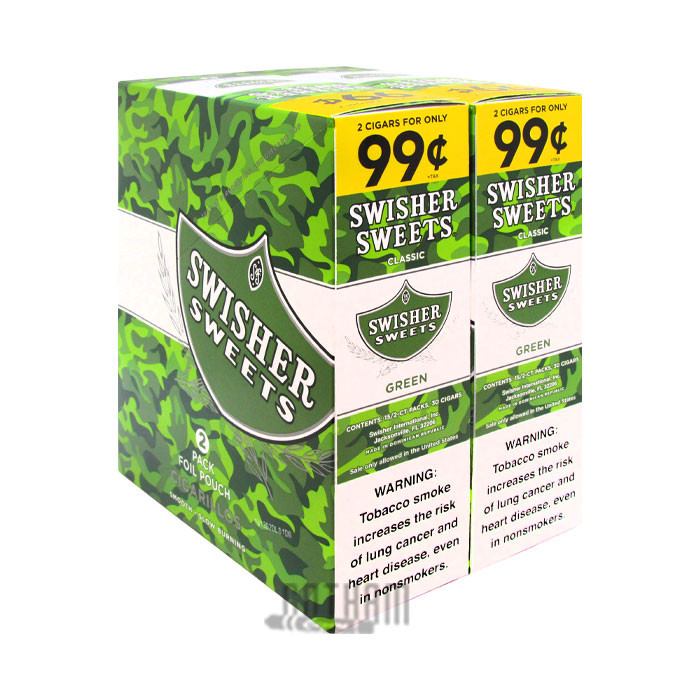 Gotham Cigars coupon: Swisher Sweets Cigarillos Green Sweets