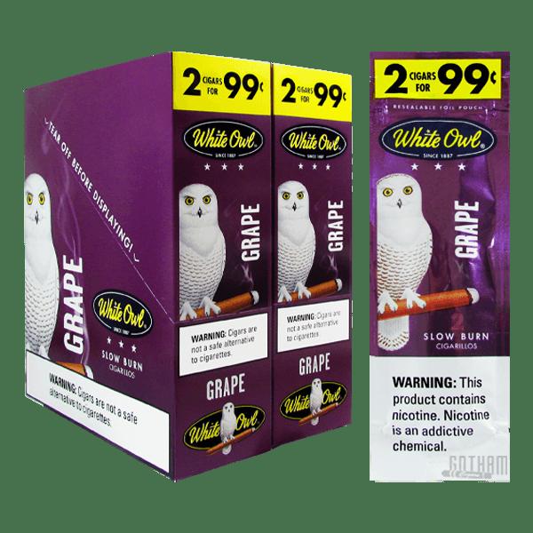 Gotham Cigars coupon: White Owl Cigarillos Grape