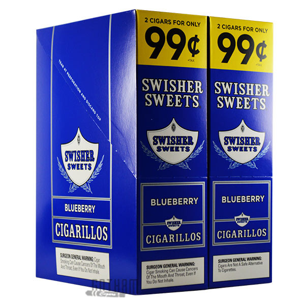 Gotham Cigars coupon: Swisher Sweets Cigarillos Blueberry