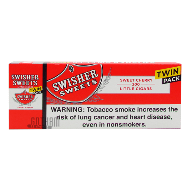 Gotham Cigars coupon: Swisher Sweets Little Cigars Cherry Twin Pack