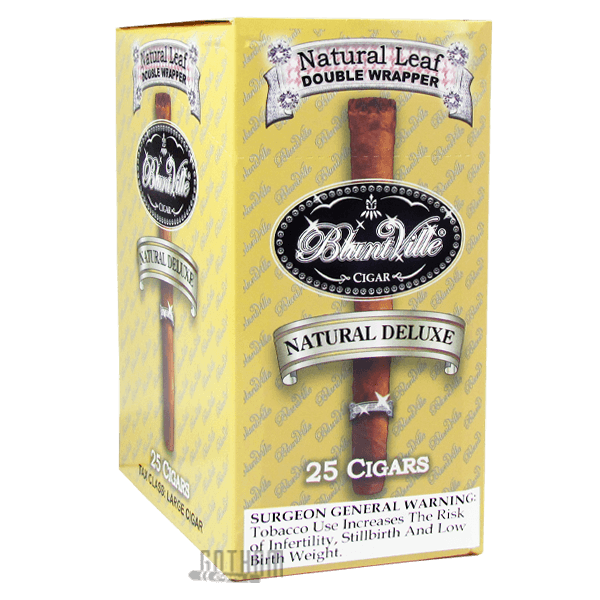 Gotham Cigars coupon: Bluntville Cigars Natural Deluxe