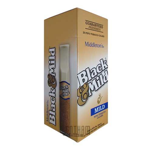 Gotham Cigars coupon: Black And Mild Mild (Select) Upright
