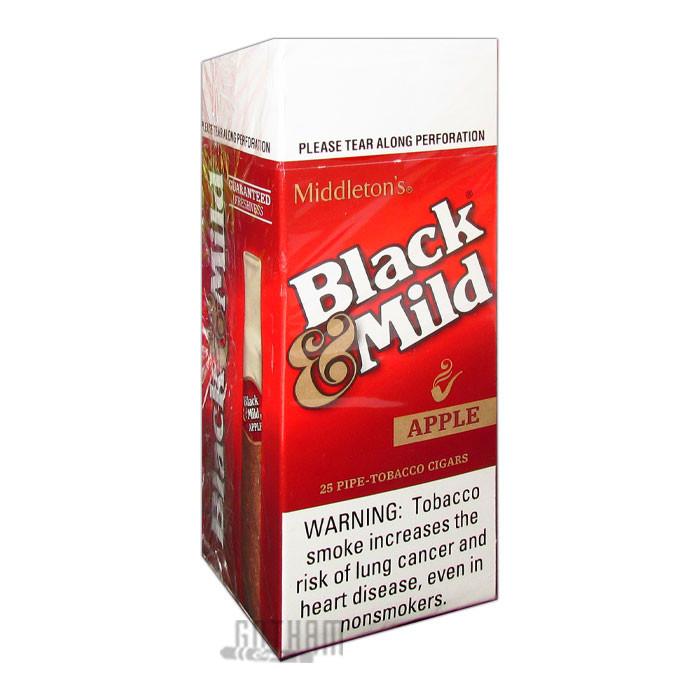 Gotham Cigars coupon: Black And Mild Apple Upright
