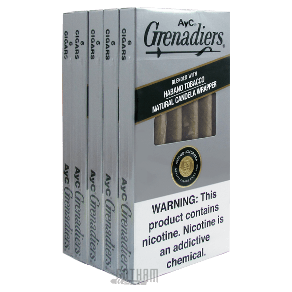 Gotham Cigars coupon: A Y C Grenadier Natural Light Pack