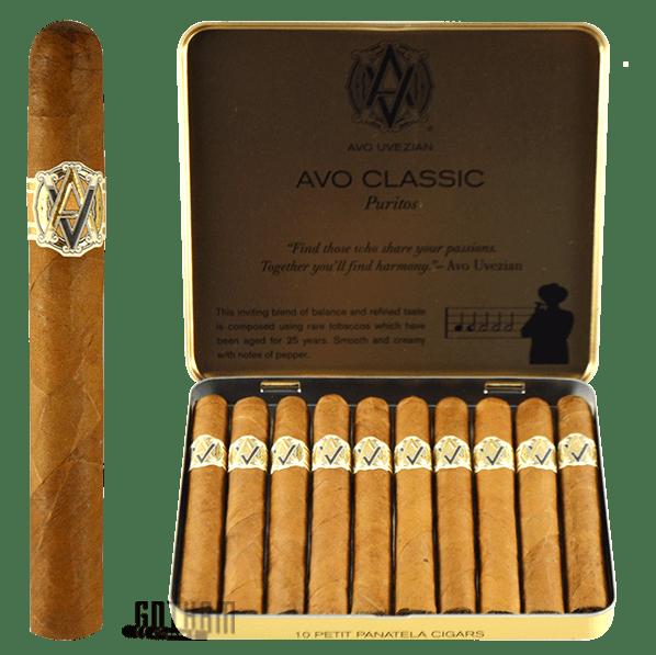 Gotham Cigars coupon: AVO Puritos
